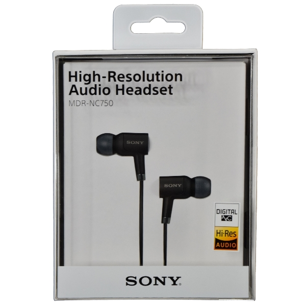 SONY MDR-NC750 High-Resolution Digital Noise Cancellation ...