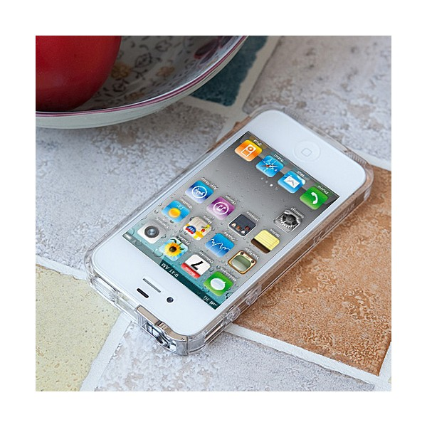 Exogear ExoClear Edge Bumper Style Case for Apple iPhone 4 ...