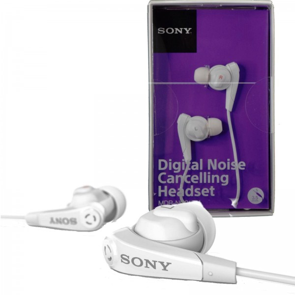 sony digital noise cancelling headset mdr nc31em white Easy EMIs for