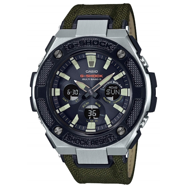 858da16d5a1 Casio G-Shock G-STEEL GST-W330AC-3AJF MILITARY STREET Tough Solar Shock  Resistant 200-Meter Water Resistance Multiband 6 Men s Watch - JDM product  (Japanese ...