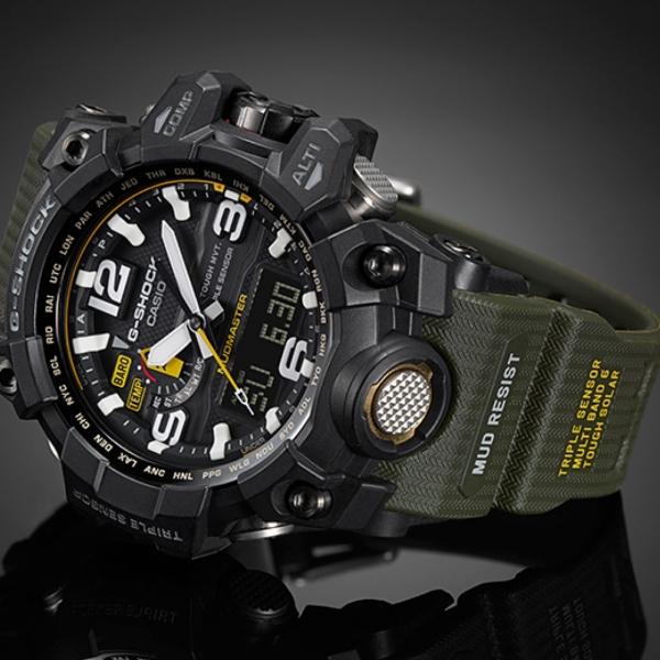 Casio G-Shock GWG-1000-1A3 DR Mudmaster Radio Control ...