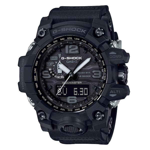 Casio G Shock Gwg1000 1a1 Black Mudmaster Triple Sensor