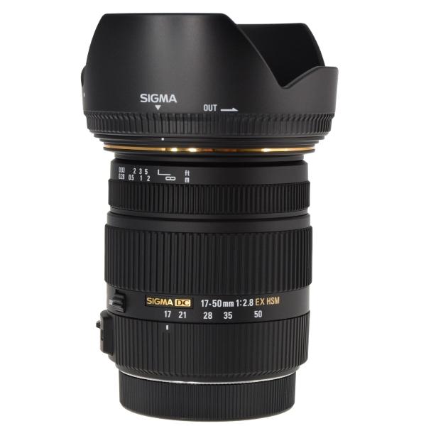 sigma 17 50mm f 2 8 ex dc os hsm zoom lens for canon aps c. Black Bedroom Furniture Sets. Home Design Ideas