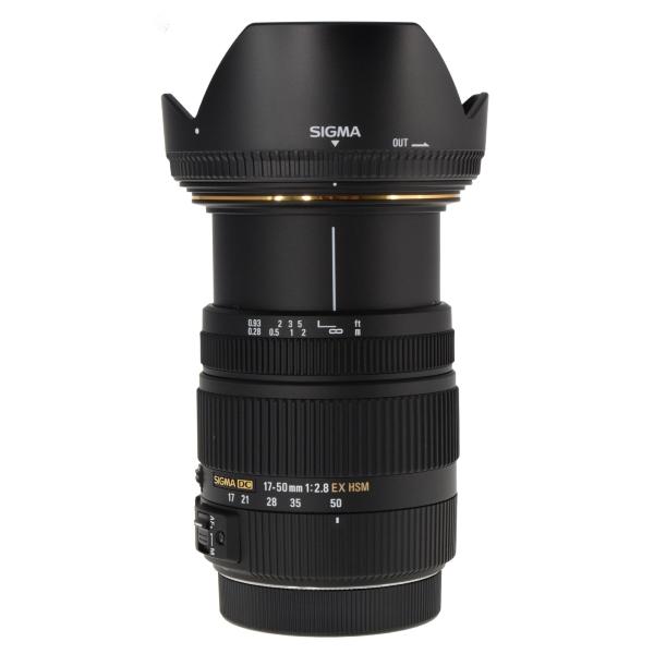 e545db514c4b4 SIGMA 17-50mm f 2.8 EX DC OS HSM Zoom Lens for Canon DSLRs with APS-C  Sensors
