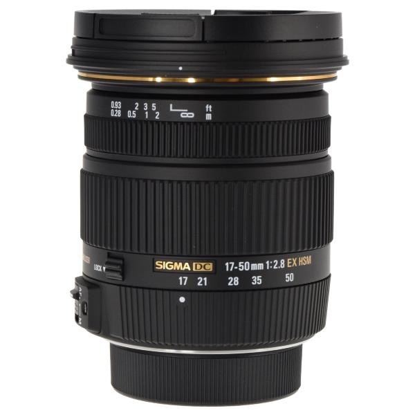c8a1dedbe57b2 SIGMA 17-50mm f 2.8 EX DC OS HSM Zoom Lens for Nikon DSLRs with APS-C  Sensors