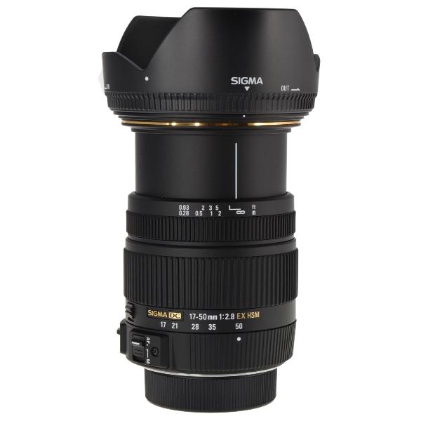 sigma 17 50mm f 2 8 ex dc os hsm zoom lens for nikon aps c. Black Bedroom Furniture Sets. Home Design Ideas