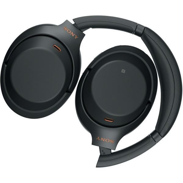 Sony WH-1000XM3 WH1000XM3 Wireless Bluetooth Noise-Canceling Headphones - Black 4548736081192