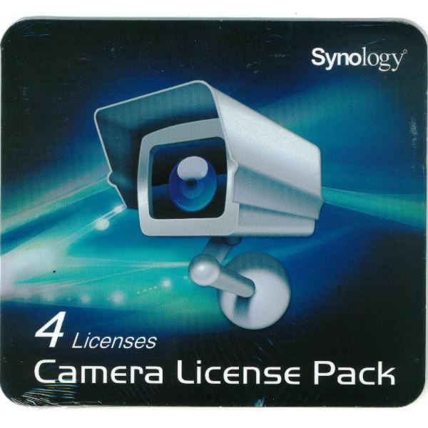 Synology IP Camera Cam 4-License Code Key Pack Kit Surveillance Station All NAS