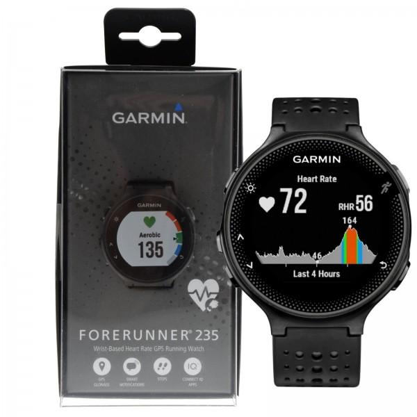 Details about Garmin Forerunner 235 Wrist-Based Heart Rate Watch - Black  Grey *DUTY ZERO STORE