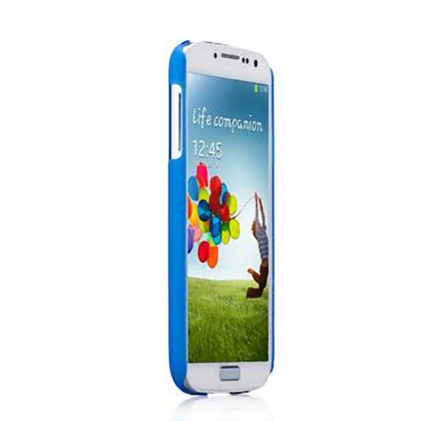 Momax Ultra Tough Clear Touch Slim Case for Samsung Galaxy S4 SIV i9500 - Blue   eBay
