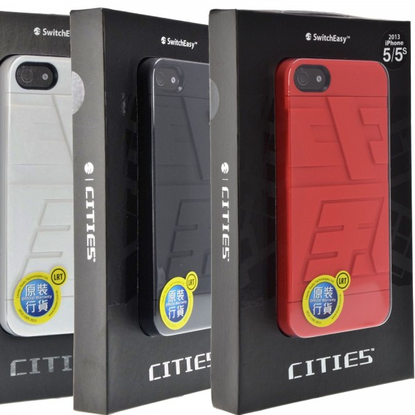 innovative design 597ed 3a591 Details about SwitchEasy CITIES Durable Case with FRONT/BACK Film for  iPhone SE / 5 / 5s CHINA