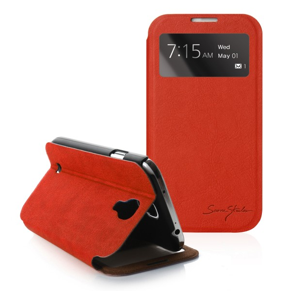 tridea 100 italian standing s view cover case for samsung galaxy s4